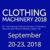 CLOTHING MACHINERY FAIR 2018